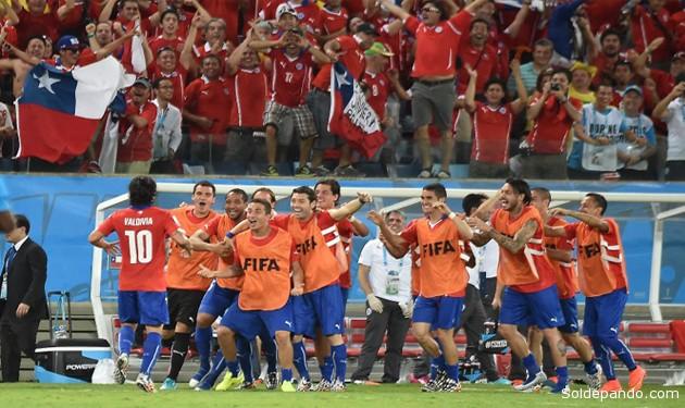 La recuperación prematura de Arturo Vidal tars una temida convalecencia, fue un factor anímico que le dio fuerza goleadora al equipo chileno. | Foto TiroLibre.com