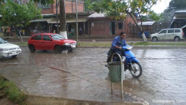 Un atardecer frío y lluvioso en la ciudad de Cobija | Foto Sol de Pando