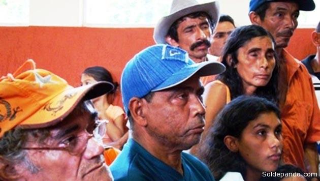 El año 2009 se acordó con el Brasil reubicar a más de 500 familias de campesinos brasileños que ocupaban ilegalmente la franja de protecciòn fronteriza en el país. El proceso culminó con 40 familias brasileñas que optaron por quedarse en el país dentro el municipio de Puerto Rico.   Foto archivo de Altino Machado