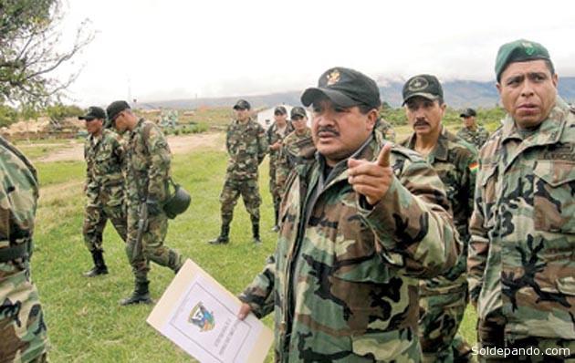 Felipe Cáceres desplegó creativamente una logística que le ha permitido nacionalizar esta lucha, estableciendo alianzas estratégicas con Brasil y Perú. | Foto Archivo