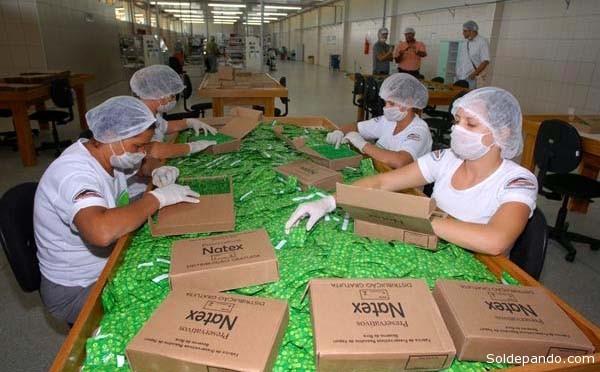Natex tiene una planta fabril de 200 trabajadores, en su mayoría nativos de Xapurí que perciben un sueldo promedio de 1.500 reales. | Foto Archivo