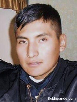 El sub-brigadier Jesús Rubén Quispe cursaba en el último año de la Escuela Naval Militar, a punto de graduarse como oficial de la Armada Boliviana. | Foto Página Siete