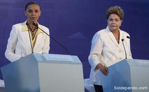 Marina Silva y Dilma Rousseff, dos ex ministras de Lula enfrentadas por sus radicales diferencias sobre el desarrollo de la Amazonia. | Foto Archivo