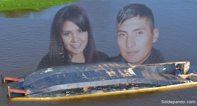 Las dos víictimas fueron halladas sin vida dentro la nave que quedó volcada tras naufragar en orilla del río Paraguay, en la jurisdicción brasileña de Corumbá. | Fotomontaje Sol de Pando
