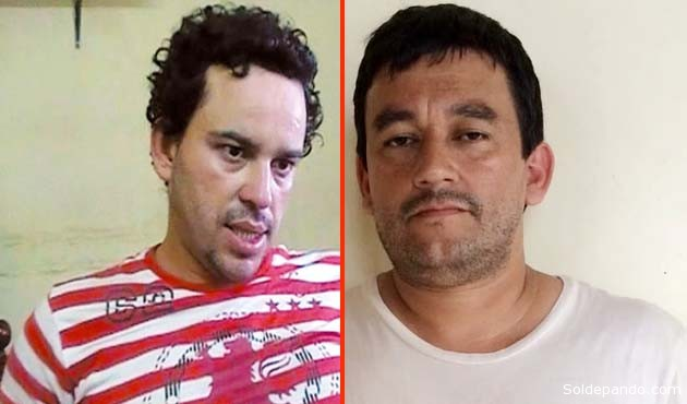 El sicario brasileño Marcos André Magalhães de Oliveira que huyó de El Abra, y su cómplice boliviano Gary Gonzáles Goy, recientemente capturado en el Acre brasileño. | Fotomontaje Sol de Pando