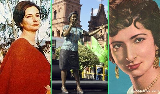 El monumento erigido como parte del cierre de las fiestas septembrinas en la Manzana Uno consta de una estatua de bronce fundido, con dos metros de alto, realizada por el escultor Juan Bustillo. | Fotomontaje Sol de Pando