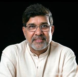 Kailash Satyarthi.  Junto a su activismo en pro de la educación de los menores, su condición de ciudadano indio de religión hindú ha sido otra de las características valoradas por la Academia Sueca para concederle el galardón junto a a Malala, paquistaní y musulmana. India y Pakistán están enfrentados y han sostenido varias guerras desde la independencia de ambos estados, en 1947.