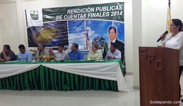 Más de mil cien millones de bolivianos se han invertido en los quince municipios del departamento y se consiguió aprobar el Estatuto Autonómico de Pando que fue declarado constitucional, constituyéndose en el líder del proceso autonómico de Bolivia. | Foto GADP