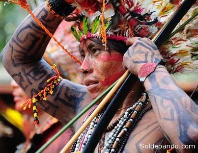 Pelos dados da Funasa, em 2010 o Estado do Acre abrigava 7.535 índios huni kuin.   Foto Diego Gurgel