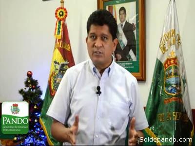 Luís Flores Roberts durante las últimas horas en su despacho.