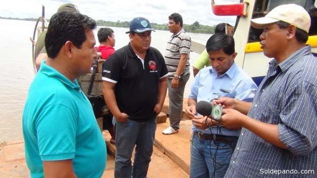 La inspección realizada por el gobernador Polanco es una de las primeras intervenciones en su gestión después de haberse posesionado en diciembre pasado como suplente transitorio del gobernador titular Luis Adolfo Flores que se habilitó como candidato a la re-elección en el cargo. | Foto GADP