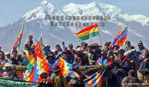 """""""Autonomías para Bolivia era la demanda legítima a un Estado que se reconocía plurinacional...!"""