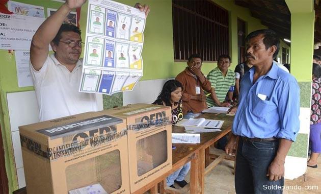 Los electores de Pando asistieron a las urnas con elevada conciencia cívica.  | Foto Radio Universitaria UAP