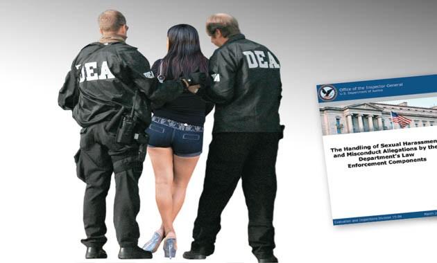 Un informe del Departamento de Justicia de EE.UU. abundó en detalles sobre los bacanales sexuales de la DEA financiados por el narcotráfico colombiano. Los mismos agentes corruptos recibieron armas que les obsequiaron grupos de paramilitares y sicarios.  | Foto Semana