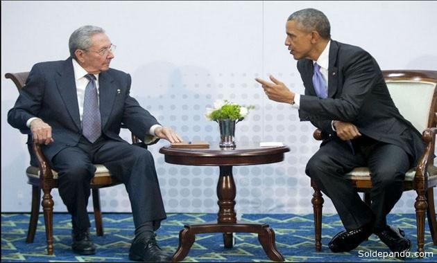 La Casa Blanca dijo  que el formato de la reunión en Panamá fue el mismo que el que se hubiera producido en la Salón Oval. | Foto AP