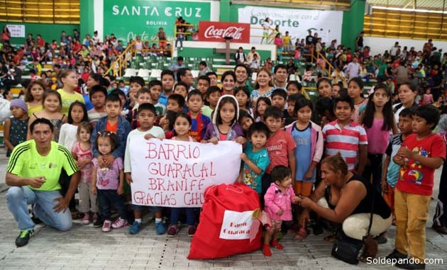 En Santa Cruz hay una población infantil de 680.536 habitantes menores de 11 años, de los cuales 347.802 son varones y 332.734 son niñas.   Foto Estrella del Oriente