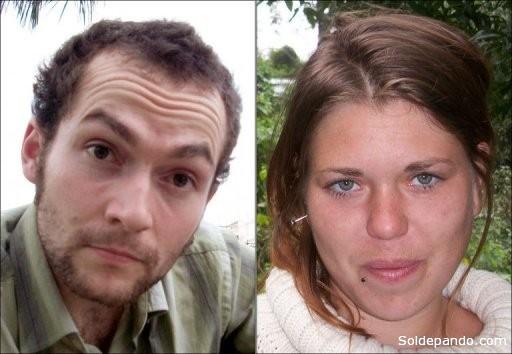 Jeremie Bellanger (25) y Fannie Blancho (23), la joven pareja francesa que encontró la muerte en Guayaramerín.