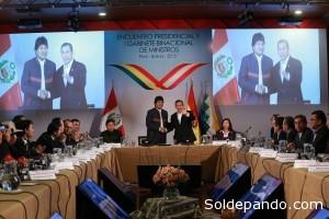 El Primer Gabinete Binacional es un paso histórico para fortalecer la integración entre Bolivia y Perú.   Foto: ABI