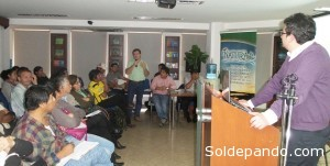 Conversatorio realizado en la ciudad de Santa Cruz de la Sierra este año.