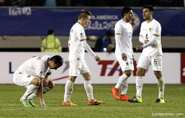 Se cae el telón para la selección boliviana en la Copa América.