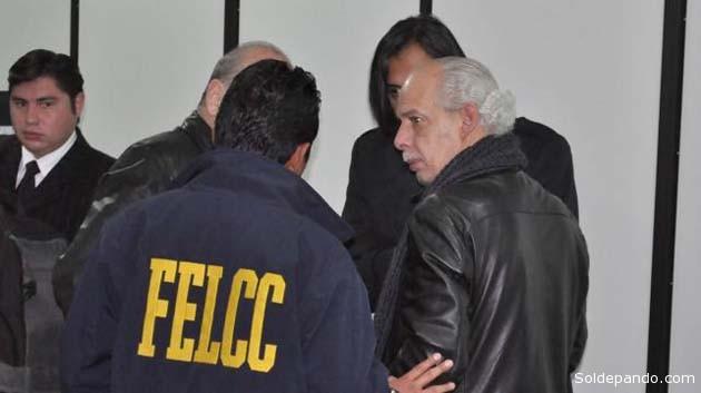 El Presidente de la FBF  fue arrestado el martes tras una audiencia realizada en Sucre. | Foto Archivo