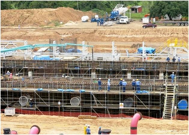 la Planta de Amoniaco y Urea construida por la surcoreana Samsung Engineering en la zona de Bulo Bulo del departamento de Cochabamba,  producirá fertilizantes para consumo nacional y exportación.