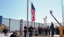 El acto de reapertura de la Embajada de Estados Unidos en el Malecón de La Habana, hoy 14 de agosto, a cargo del secretario de Estado John Kerry. |Foto AP