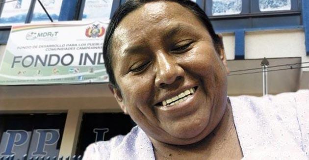 Después de cinco años a cargo del Ministerio de Desarrollo Rural y Tierras, Nemesia Achacollo renunció.