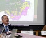 Os ministros da Ciência, Tecnologia e Inovação, Aldo Rebelo, e do Meio Ambiente, Izabella Teixeira. | Foto Inpe