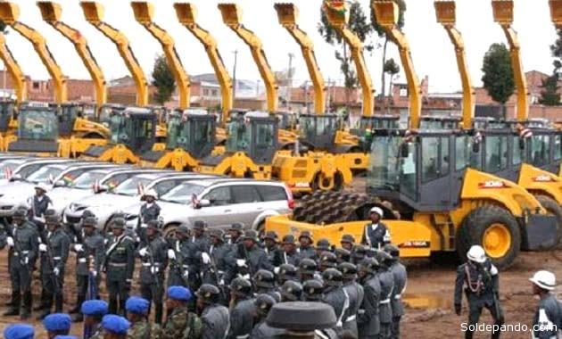 La estatal Empresa de Construcciones del Ejército (ECE) fue creada para construir caminos y otras obras civiles de envergadura. La estrategia fracasó en apenas dos años. | Foto El Deber