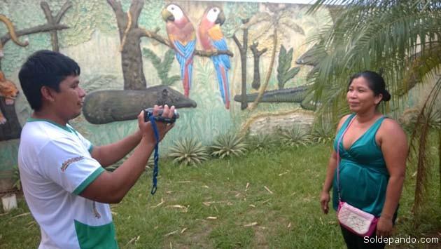 Los líderes indígenas de Pando se capacitan en el manejo de herramientas de la comunicación social. | Foto Wilsson Asturizaga.