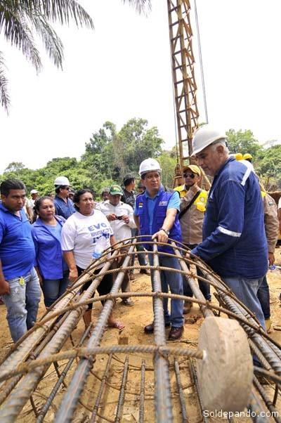 Gracias al Puente San Silvestre, el camino de Ixiamas a Cobija podría ser una pronta realidad, acortando por esa vía distancias entre Pando y el resto del país. | Foto Prensa GADP