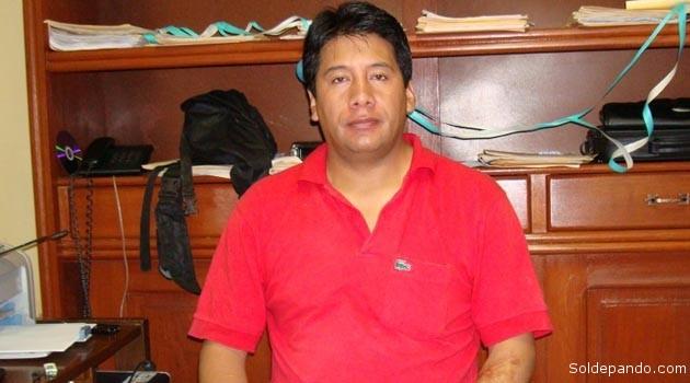 El ex fiscal Lazcano representa la prepotencia y la corrupción que en la Autonomía de Pando ya no tienen cabida. | Foto Archivo Sol de Pando