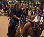 Los ganaderos de Pando en la cabalgata del 4 de octubre, ingresando a Cobija desde los municipios de Porvenir y Bella Flor. | Foto Prensa GAPD