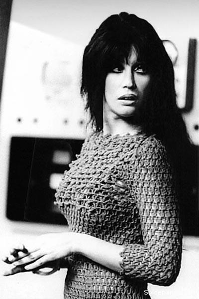 La despampanante actriz y vedette argentina Moria Casán en los años setenta.   Foto Archivo
