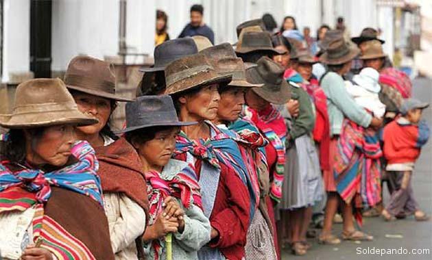 Entre los países de Sudamérica, Bolivia tiene el lugar más bajo del informe de la ONU emitido este lñunes en Etiopiía. | Foto Archivo