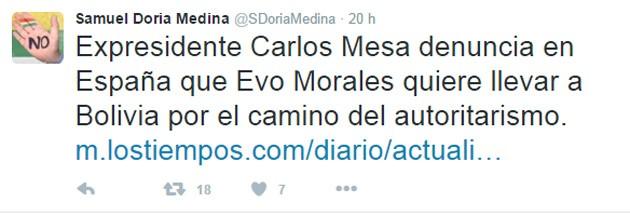 Tuit Doria Medina