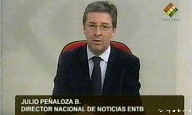 En manos de personajes como Peñaloza Bretel está el manejo comunicacional del Estado Plurinacional de Bolivia.   Foto Archivo