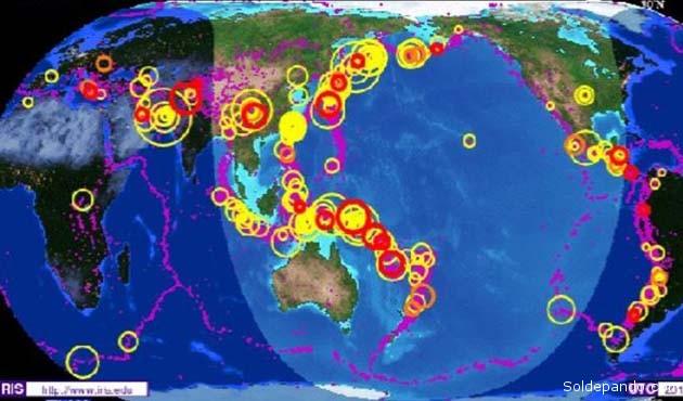 Terremoto Ecuador Mapa sismos