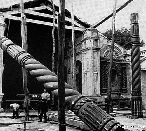 La acción restauradora del arquitecto suizo Hans Roth en las Misiones Jesuíticas de la Chiquitania. | Foto Jorge Orías Herrera