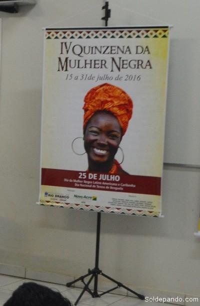 Mulher Negra Banner
