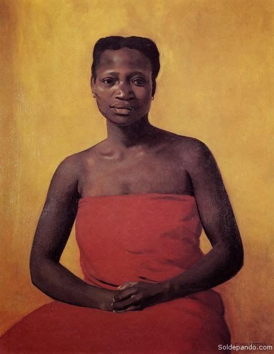 Imagen oficial de Tereza de Benguela. Su memoria y la figura son una luz que resplandece eternamente en el firmamento de las 50 millones de mujeres negras del Brasil, en este siglo XXI. | Foto Sejdu