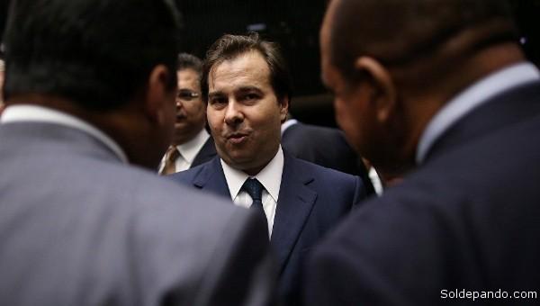 Rodrigo Maia, aliado de Michel Temer, es el nuevo presidente de la Cámara de Diputados de Brasil. | Foto Reuters
