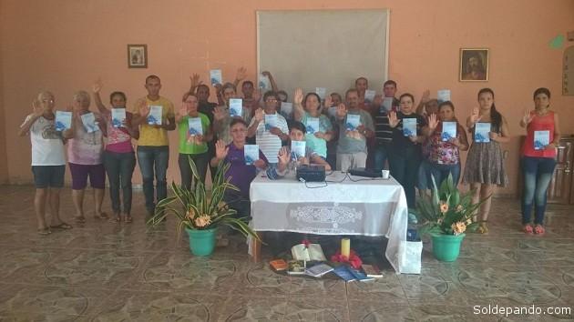 Encuentro realizado en el municipio de Puerto Acre con participación de sacerdotes y religiosas. | Foto Sejdhu