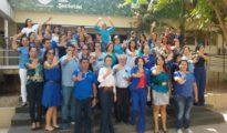 Los combativos integrantes del Comité Estadual de Enfrentamiento al Tráfico de Personas comandados por Nilson Mourão, Secretario de Justicia y Derechos Humanos del Estado do Acre. | Foto Sejdhu