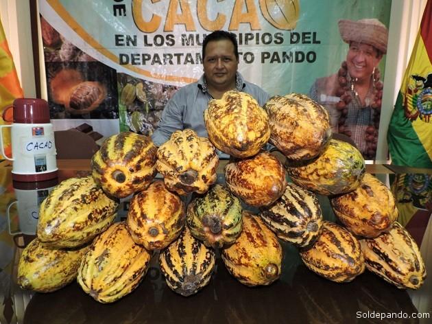 Androcles Puerta, Secretario de Economía Plural del Gobierno Autónomo Departamental de Pando | Foto Prensa GADP