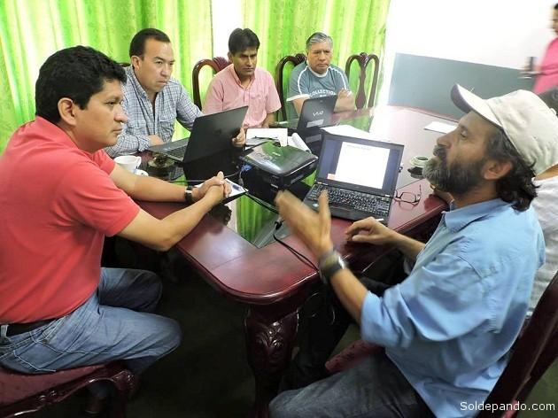 El desarrollo de la Economía Plural tiene un campo fértil en Pando. La FAO y la Gobernación estrechan una cooperación técnica que beneifiacrá a profesionales y productores del departamento. | Foto Prensa GADP
