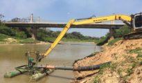Las aguas del Acre llegaron a un nível de 1,45 metros, el más bajo de la historia en los registros oficialmente realizados desde 1970  por la dirección estadual de Defensa Civil.  | Foto cortesía Altino Machado