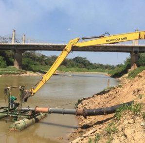 Las aguas del Acre llegaron a un nível de 1,45 metros, el más bajo de la historia en los registros oficialmente realizados desde 1970  por la dirección estadual de Defensa Civil.    Foto cortesía Altino Machado