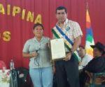 La Declaración Camaral fue entregada al alcalde de Saipina Hernando Becerra.